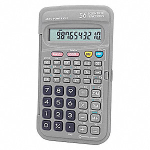Scientific Calculator,Portable,5 In.