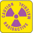 Caution Radioactive Material Signs