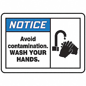 Safety Label,5 In. W,3-1/2 In. H,PK5