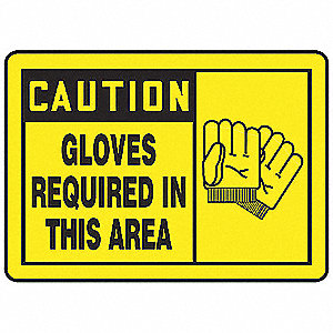 Safety Label,3-1/2 In. H,5 In. W,PK5