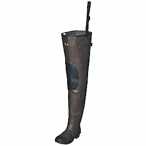 Insulated Hip Waders,Mens,Size 13,PR