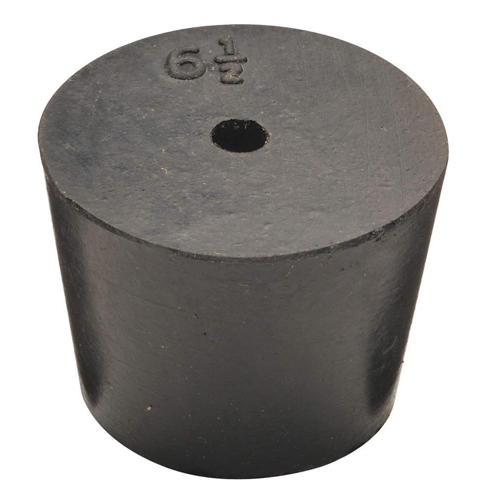 Rubber Stopper, 24mm, Black, PK63