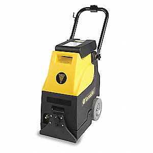 "Mini Carper Extractor, 4.25 gal., 120V, 60 psi, 13"" Cleaning Path"