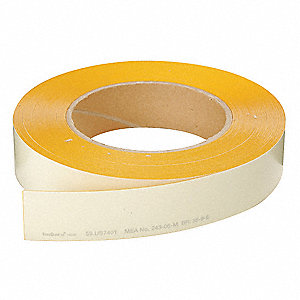 "Glow-in-the-Dark Marking Tape, 1"" x 98-2/5 ft., 1 EA"