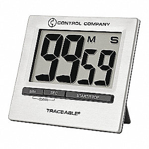 Countdown Timer,1-1/3 In. LCD