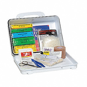 Vehicle First Aid Kit,Bulk,16Pcs,1 Ppl