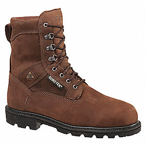 Work Boots,14,W,Brown,Steel,Mens,PR