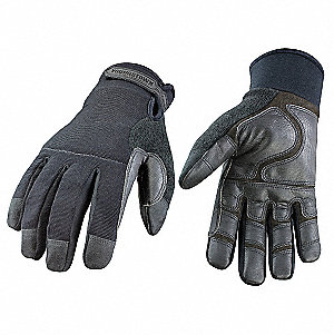 Tactical/Military Glove,L,Black,EA