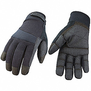 Tactical/Military Glove,S,Black,EA