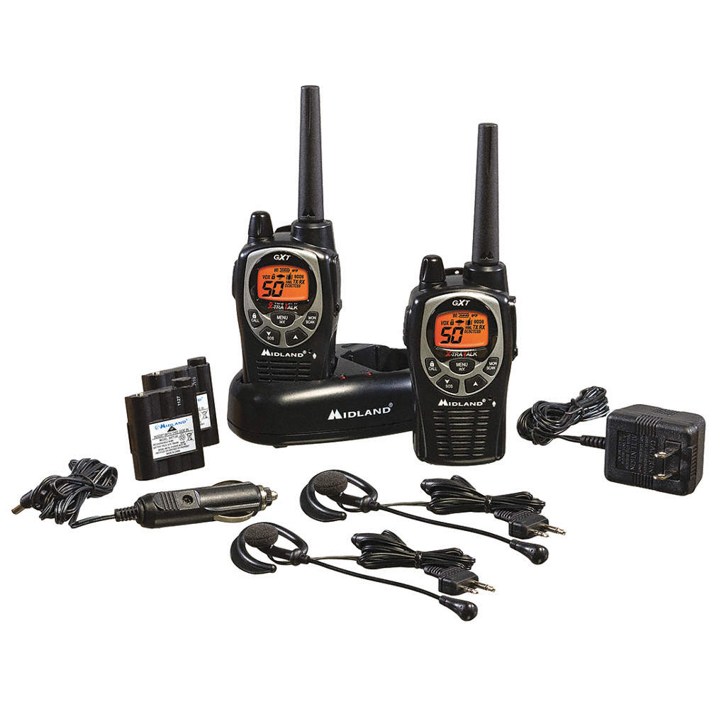 GXT1000/1050 Series 50-Channel FRS/GMRS Digital General Radio