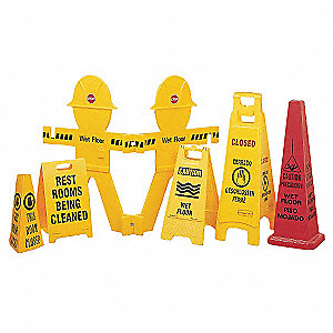 Floor Stand Sign,Caution Men Working