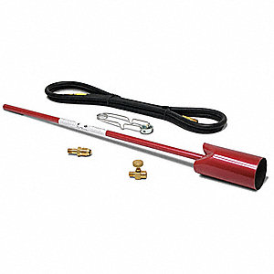 Red Dragon Vapor Torch Kit, Gas Fuel, Manual Ignitor
