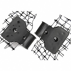 Bird Net Mounting Clip, Weight: 4 lb., Used For Mounting Bird-X Netting