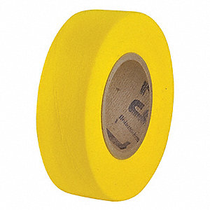 Biodegradable Flagging Tape,Yellow,100ft