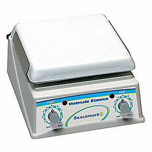 Magnetic Stirring Hot Plate,7.5 x 7.5In.