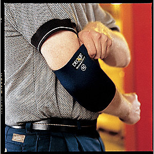Elbow Support,L,Blue,Pull-Over