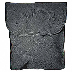 Respirator Storage Bag,Black,Polyester