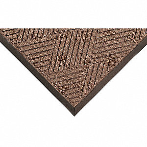 Entrance Mat,Brown,3x5ft