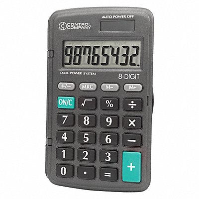 8NNJ7 - Calculator Pocket 4-1/4 In.
