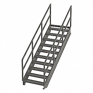 Stair Unit,Carbon Steel,11 Steps