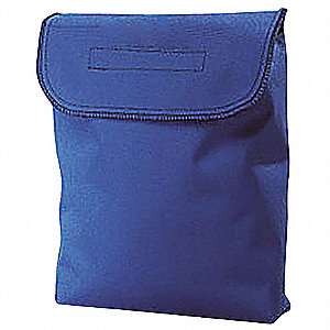Respirator Storage Bag,Blue,Polyester
