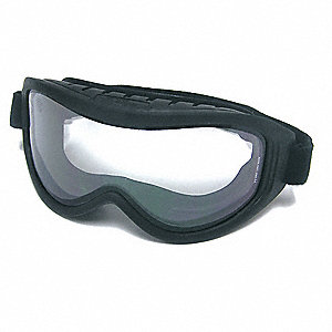 Anti-Fog Fire Goggle, Clear Lens Color