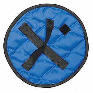 Crown Cooler, Evaporative Cooling, Quilted Nylon, Blue