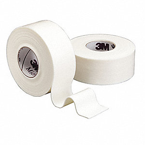 Surgical Tape,White,1 In. W,PK12