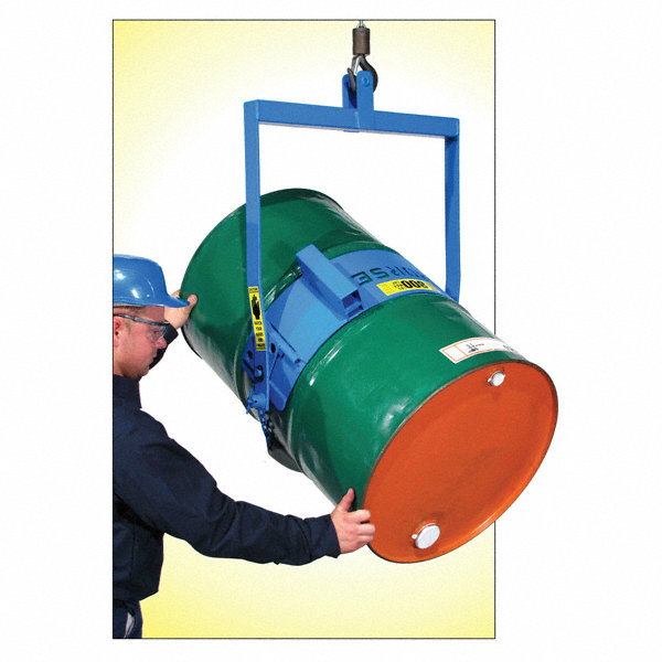 Grainger approved drum carrier 55 gal 800 lb manual tilt for General motors extended warranty plans