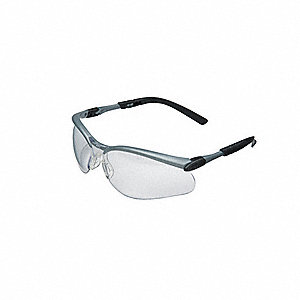 BX  Scratch-Resistant Safety Glasses, Clear Lens Color