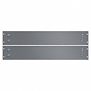 Side Brace,Steel,Gray,18 In. D,PK2