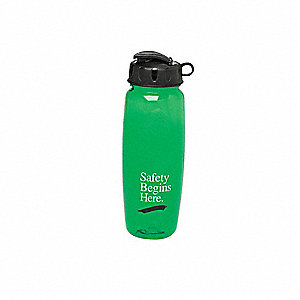 Water Bottle,Green,25 oz.