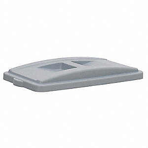 Gray All-Purpose Recycling Top