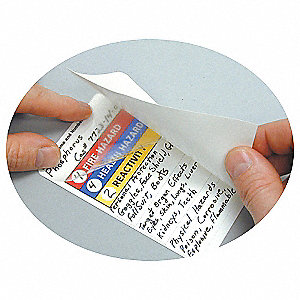 HMIG Label,5 In. H,3 In. W,PK25