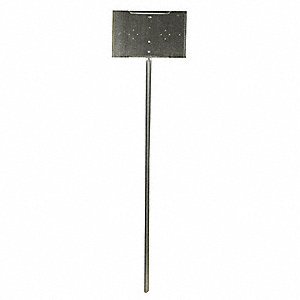 Sign Post,Galvanized Steel,42 In