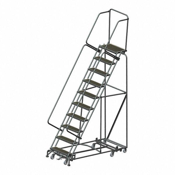 Ballymore 10 Step Rolling Ladder Rubber Mat Step Tread