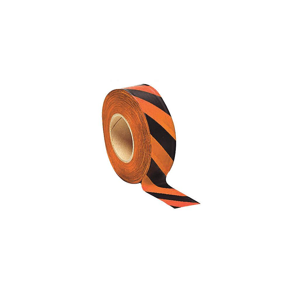 PRESCO PRODUCTS CO SOGBK-200 Flagging Tape,Orange Glo//Black,150 ft