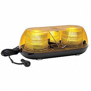Whelen amber mini light bar halogen lamp type magnetic mounting amber mini light bar halogen lamp type magnetic mounting number of heads aloadofball Images