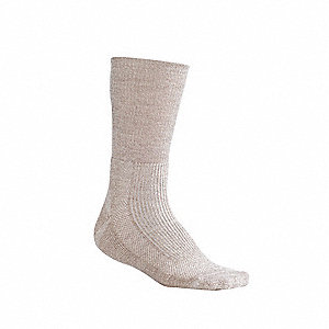 Crew 55% Merino Wool, 43% Nylon, 2% Spandex Hiking Socks, Women's, Sand Heather, 1 PR