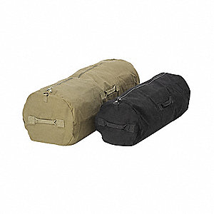 "25"" x 25"" Canvas Duffel Bag, Black"
