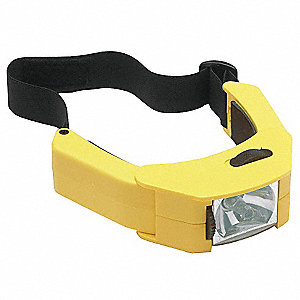 Industrial Headlamp, Yellow