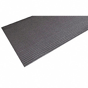 "Antifatigue Mat, PVC Closed Cell Sponge, 5 ft. x 2 ft. 3"", 1 EA"