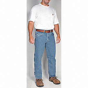 "Men's Relaxed Fit Jeans, Cotton Denim, Color: Vintage Indigo, Fits Waist Size: 40"" x 32"""