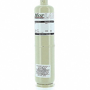 Carbon Monoxide Calibration Gas, 103L Cylinder Capacity