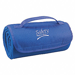 Blanket,Safety Begins Here,Royal Blue
