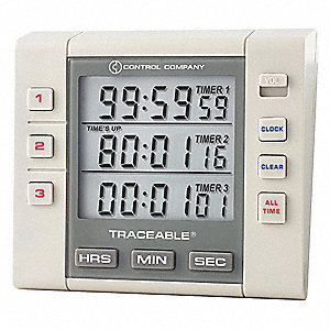 Alarm Timer,3 Channel,