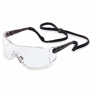 OP-TEMA® Scratch-Resistant Safety Glasses, Clear Lens Color