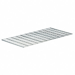 "48"" x 36"" Wire Mesh Decking, Galvanized"