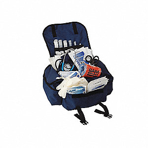 Pro Response Trauma Kit,Navy Blue