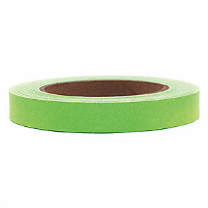 "60 yd. x 3/4"" Paper Carton Sealing Tape, Green"